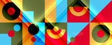 Neo Memphis Geometric Pattern ...