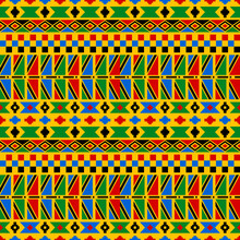 Kente Seamless Pattern