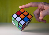 Rubik's cube - world's most popular combination 3d puzzle