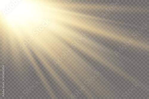 Fotografia Glow light effect
