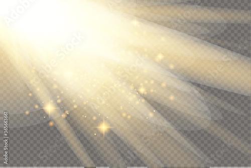 Cuadros en Lienzo Glow light effect