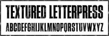 Textured Letterpress Condensed...