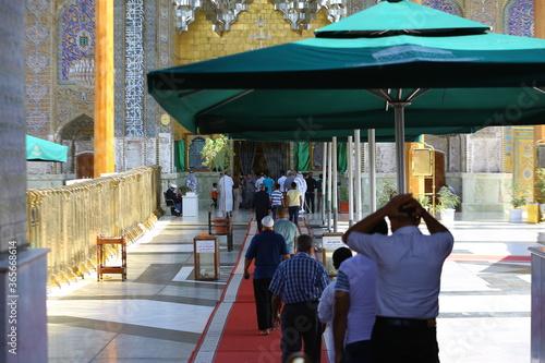 Valokuvatapetti The shrine of Imam Musa Al-Kadhim and Imam Muhammad Al-Jawad in Al-Kadhim, Baghd