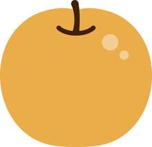 和梨のイラスト