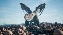 Realistic Big Dragon Lands On ...
