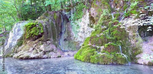 Obraz na plátně Gütersteiner Wasserfall