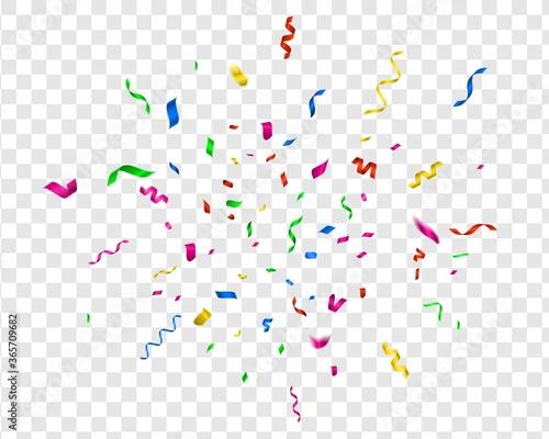 Cuadros en Lienzo Bright confetti