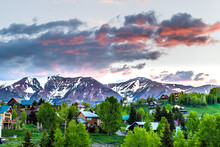 Cityscape Of Crested Butte Vil...