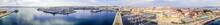 La Coruna. Aerial View In Harb...