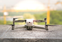 Quadcopter With Camera. Aircra...