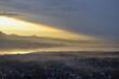 Sunset over the Czorsztyn Lake