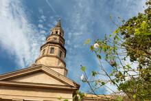 Charleston, South Carolina, United States, Novemner 2019, Saint Philips Church