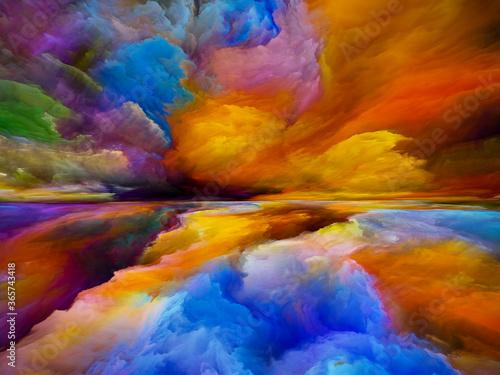 Fototapeta Acceleration of Dreamland obraz na płótnie