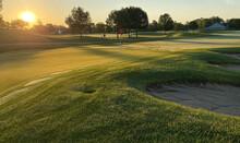 Sunrise Over Golf Course Tee B...