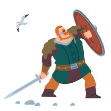 Viking Warrior Defensive Attac...