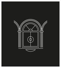 Vitrine, Porte De Boutique, Luxe, Architecture, Vintage