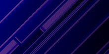 Purple Black Polygonal Abstrac...