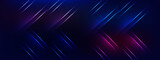 futuristic technology lines background with light effect