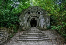 L'Orco On Bomarzo's Attraction...