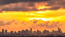 Panoramic High-angle Evening B...