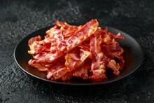 Fried Crunchy Streaky Bacon Pi...