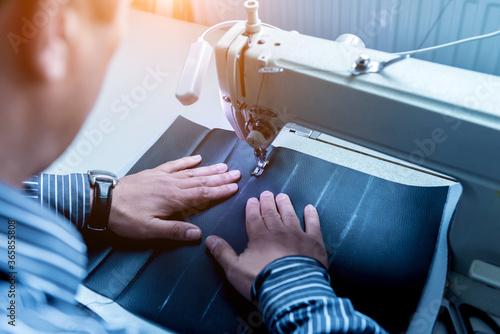 Designer tailor sew seat covers Wallpaper Mural
