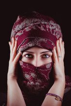 Beautiful Woman With Burka
