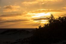 A Wonderful Sunset Over The Du...