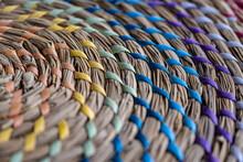 Original Weaving Of Rugs. Abst...