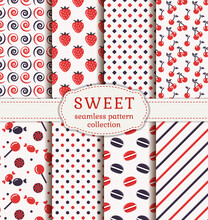 Set Of Sweet Patterns. Collect...