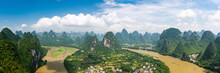 Karst Mountain Landscape In Xi...