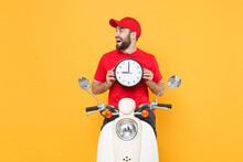 Delivery Man Red Cap T-shirt U...