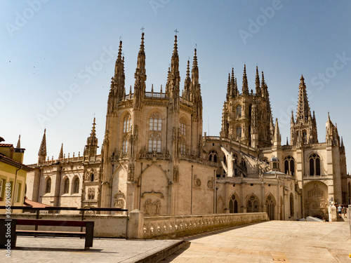Burgos, a provincial capital in Spain's autonomous community of Castile and León, is marked by its intact medieval architecture Canvas-taulu