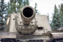 The Barrel Of A Self-propelled...