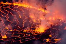 Volcan Nyiragongo, Rift Valley...