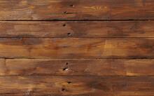 Dark Brown Wooden Boards As Ba...