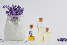 Lavender Essential Oil In Smal...