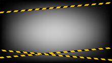 Caution Tape Line, Tape Yellow...