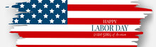 Labor Day Banner Or Header. US...