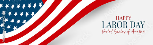 Fotografie, Tablou Labor Day banner or header