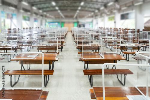 Foto Preventing the spread of Covid-19 coronavirus in schools and universities by usi