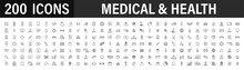 Set Of 200 Medical And Health ...