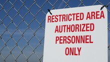 Restricted Area, Authorized Pe...