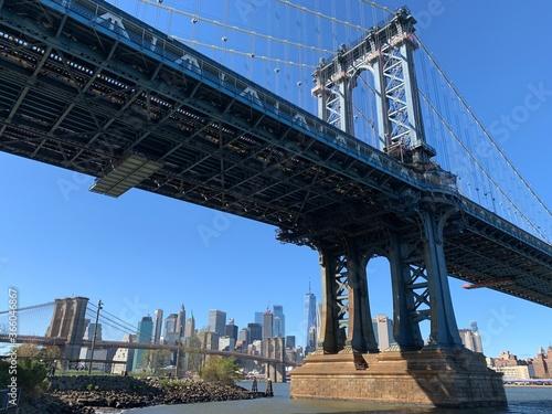 Fototapety, obrazy: Manhattan Bridge New York