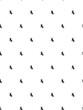Black dragonfly pattern on white background