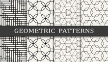 Set Of Geometric Seamless Patt...