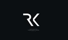RK Letter Business Logo Design...
