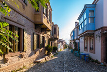 Colorful Historical Street Vie...