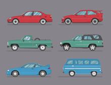 Types Of Cars. Transport Desig...