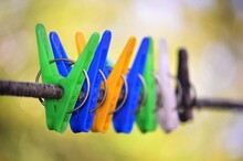 Decorative Colored Clothespins...